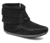 Double Fringe bootie G Stiefeletten & Boots in schwarz