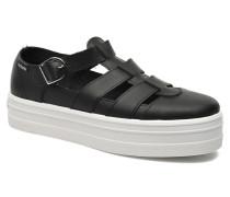 Sandalia Plataforma Sandalen in schwarz
