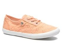 Soho Embroidery Sneaker in orange