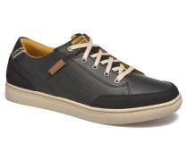 Elvino Lemen Sneaker in schwarz