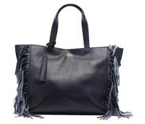 Cabas franges Handtaschen für Taschen in blau
