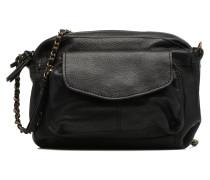 Naina Leather Crossover Mini Bags für Taschen in schwarz