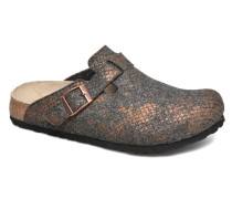 Boston Clogs & Pantoletten in grau