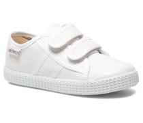 Basket lona Dos Velcos Sneaker in weiß