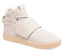 Tubular Invader Strap J Sneaker in beige