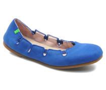 Croche N961 Ballerinas in blau