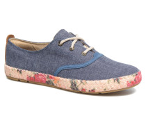 Casco Bay Fabric Oxford Sneaker in blau