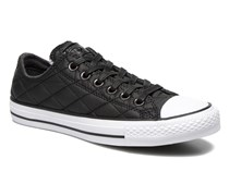Chuck Taylor All Star Quilted Ox W Sneaker in schwarz
