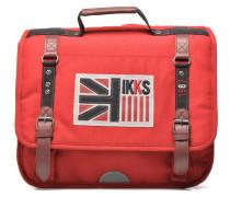 Cartable UK 38cm Schulzubehör für Taschen in rot