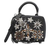 Box Crossbody Nubuck Handtaschen für Taschen in schwarz