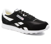 Cl Nylon Sneaker in schwarz