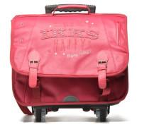 Cartable Happy 41cm Trolley Schulzubehör für Taschen in rosa