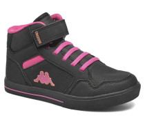 Virgaho Mid Sneaker in schwarz