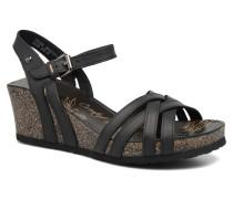 Vera Sandalen in schwarz