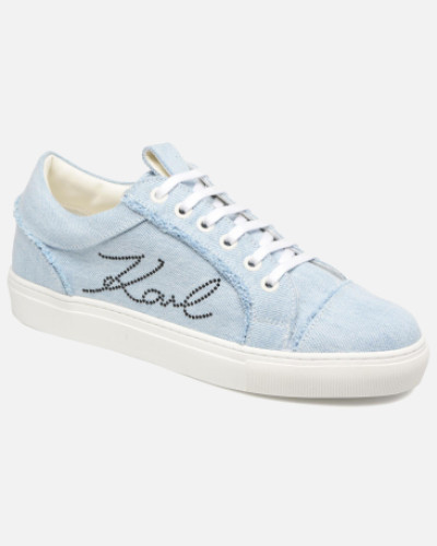 Denim Sneaker in blau
