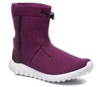 Wmns Tech Fleece Mid Stiefeletten & Boots in lila