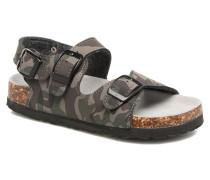 Bio Matt sandal Sandalen in grün