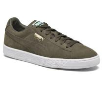 Suede Classic+ Sneaker in grün