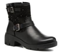 Zippe Stiefeletten & Boots in schwarz