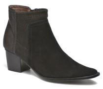 AYAM #Mul Ch Velours NOIR Stiefeletten & Boots in schwarz
