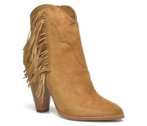 Remy Fringe Short Stiefeletten & Boots in beige