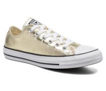 Chuck Taylor All Star Ox Metallics W Sneaker in goldinbronze