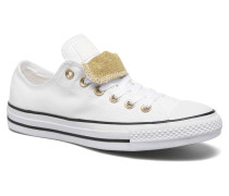 Chuck Taylor Dbl Tongue Ox W Sneaker in weiß