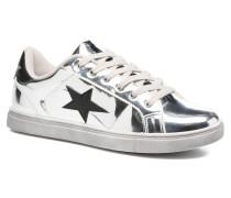 Star Sneaker in silber