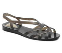 Mint Sandalen in schwarz