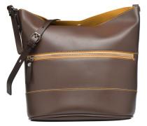 Seau bicolore Handtaschen für Taschen in braun