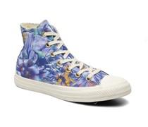 Chuck Taylor All Star Floral Print Hi W Sneaker in mehrfarbig