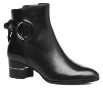 Aiden Calf Stiefeletten & Boots in schwarz
