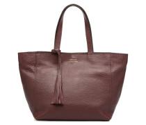 CABAS PARISIEN S Cuir grainé Handtaschen für Taschen in weinrot