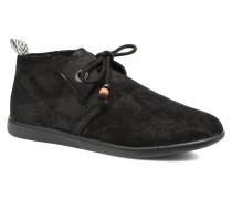 Stone mid cut oxyde Sneaker in schwarz