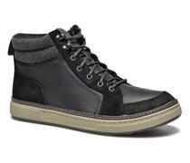 Lorsen Top Sneaker in schwarz