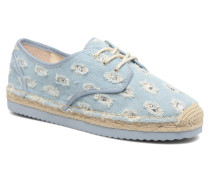 Hastings Lace Up Espadrilles in blau