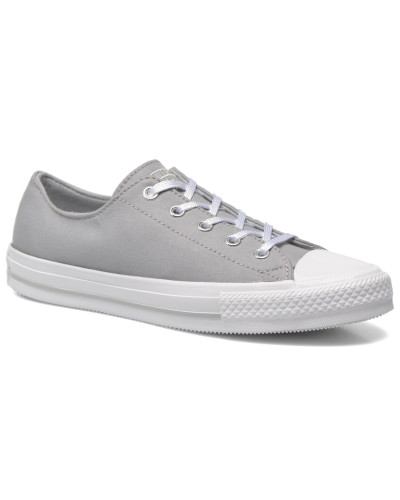Converse Damen Chuck Taylor All Star Gemma Twill Ox Sneaker in grau