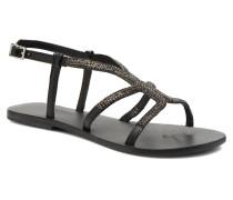 F63 802 Sandalen in schwarz