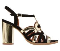 Square Simone #1 Sandalen in schwarz