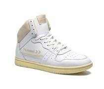 Globetrotter Vintage Hi Sneaker in weiß