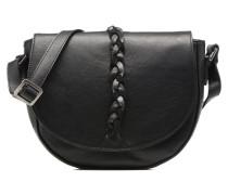 Crossbody demilune Tresse Stephanie Handtaschen für Taschen in schwarz