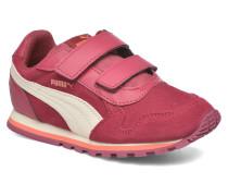 Inf St Runner Sd V Sneaker in weinrot