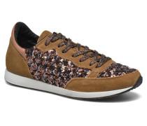 Run Luxury Sneaker in braun