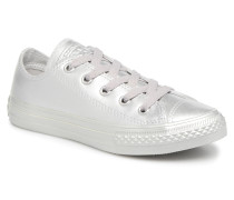 Chuck Taylor All Star Metallic 357663C Sneaker in silber