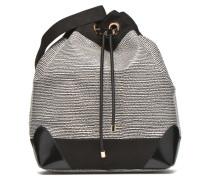 AMBER Sac seau imprimé python Handtaschen für Taschen in schwarz