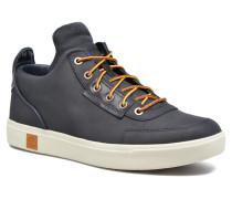 Amherst High Top Chukka Sneaker in blau