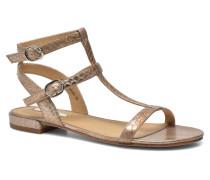 Aely Bis Sandal Sandalen in goldinbronze