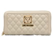 Super quilted Wallet Portemonnaies & Clutches für Taschen in weiß