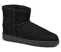 AnkleHi Sheepskin Pug Boot Stiefeletten & Boots in schwarz