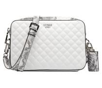 Crossbody Top Zip Rochelle Handtaschen für Taschen in weiß
